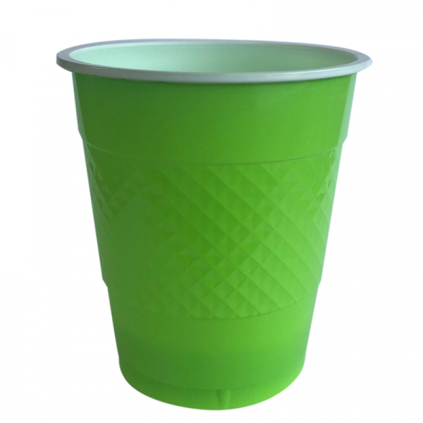 Five Star Cup 355ml Lime Green 20PK