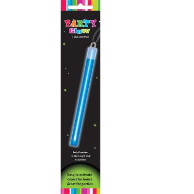 Glow Stick With Lanyard Blue