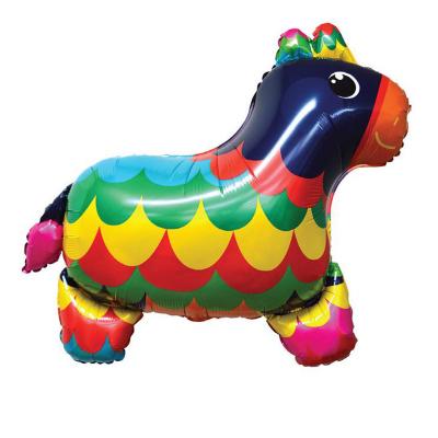 Fiesta 67cm Donkey Foil Balloon