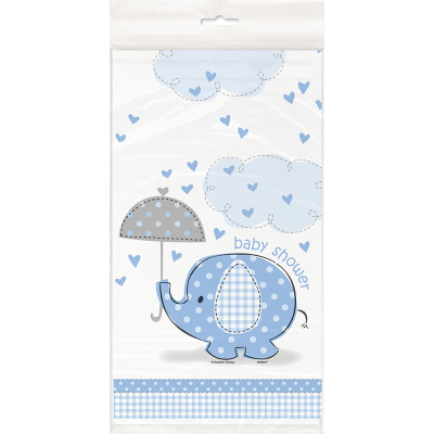 Umbrellaphants Blue Tablecover