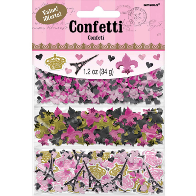 Day in Paris Confetti Value Pack 34g