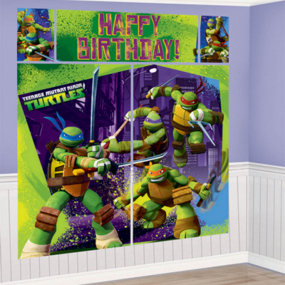 Teenage Mutant Ninja Turtles Scene Setter 5PK