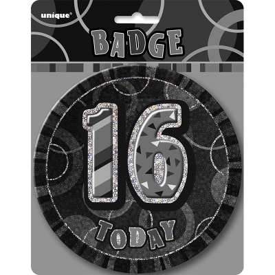 Glitz Birthday Black Badge 16th