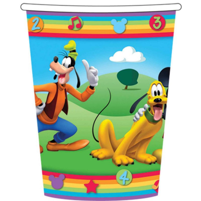 Mickey Mouse Clubhouse Cup 266ml 8PK