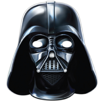 Star Wars Masks Darth Vader 6PK