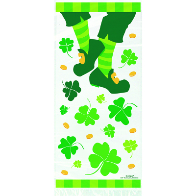 St Patrick's Day Jig Cello Bags 20PK