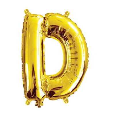 35cm 14 Inch Gold Foil Balloon D