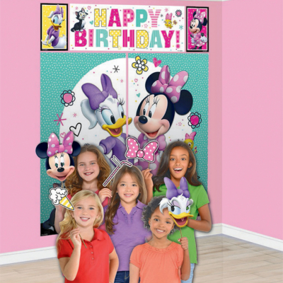 Minnie Mouse Happy Helpers Scene Setter With Props 17PK