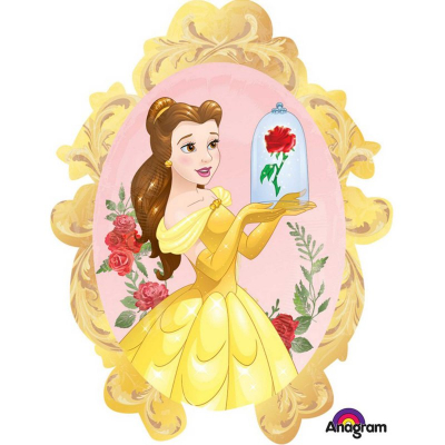 Beauty And The Beast Supershape Foil Balloon