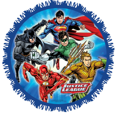 Justice League Pull String Pinata