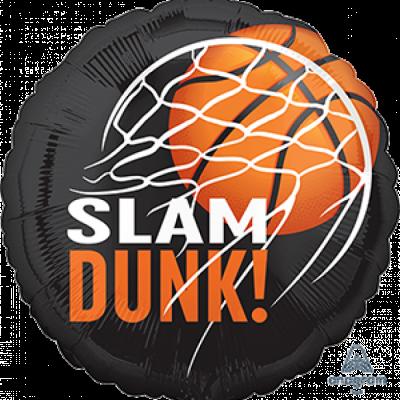 Basketball Fan 45cm Standard Foil Balloon