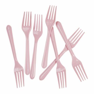 Five Star Dessert Fork Classic Pink 20PK