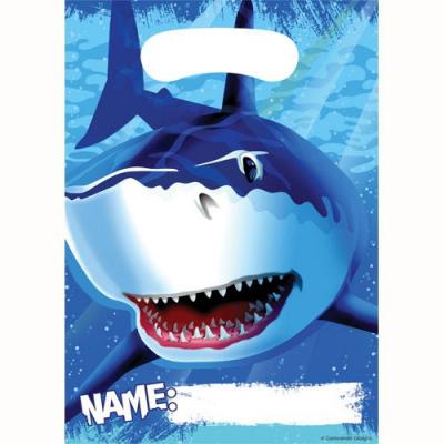 Shark Splash Loot Bags 8PK