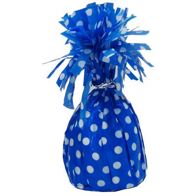 Polka Dots Balloon Weight Royal Blue