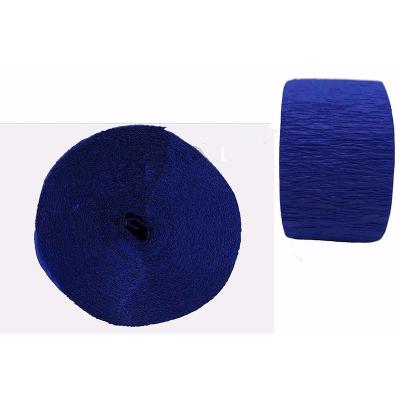Crepe Paper Streamer 24M Royal Blue
