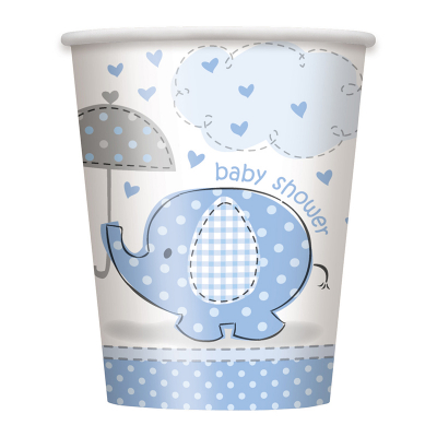 Umbrellaphants Blue Cups 8PK