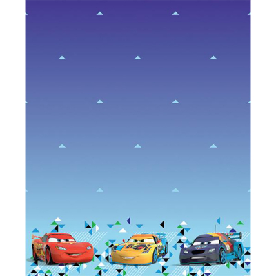 Disney Cars Plastic Tablecover