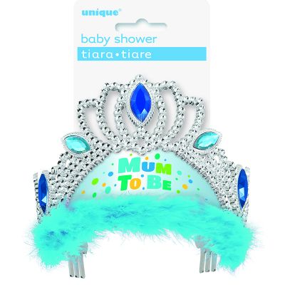Mum To Be Tiara - Blue