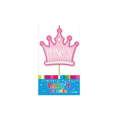 Princess Tiara Candle