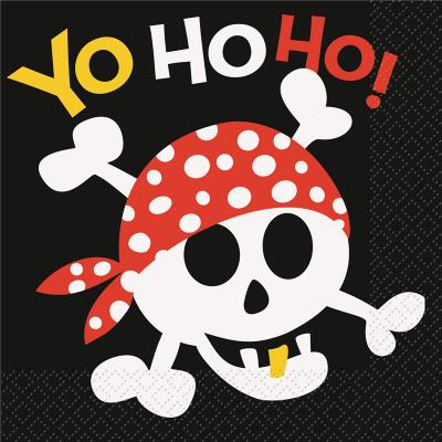 Pirate Fun Luncheon Napkins 16PK