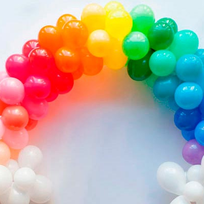 Balloon Garland Rainbow