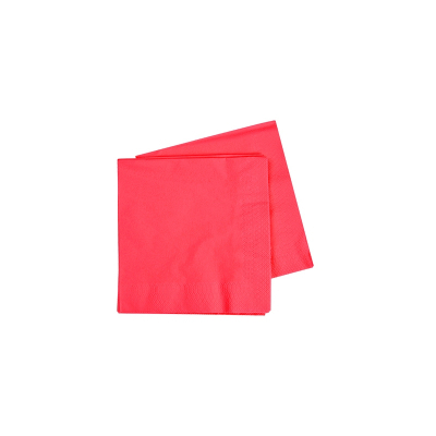 Five Star Lunch Napkin 33cm Coral 40PK