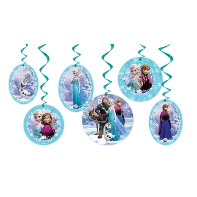 Disney Frozen Hanging Decorations 6PK