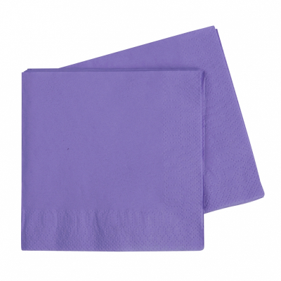 Five Star Lunch Napkin 33cm Lilac 40PK
