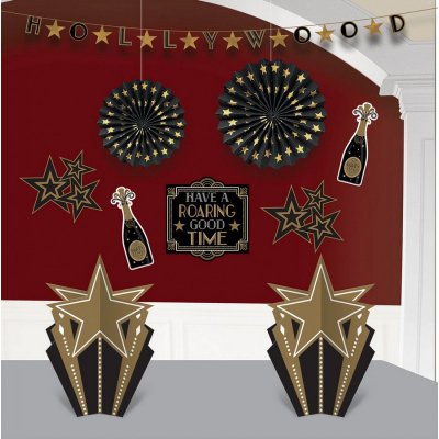 Glitz & Glam Room Decorations Kit 10PK