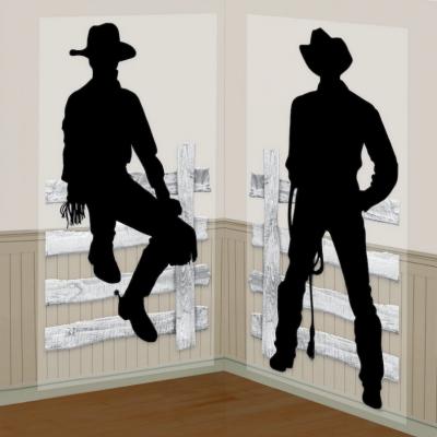Cowboys Scene Setter Add On 2PK