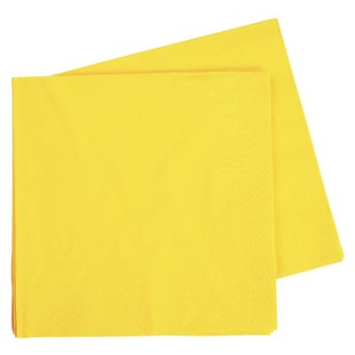 Five Star Dinner Napkin 40cm Canary Yellow 40PK