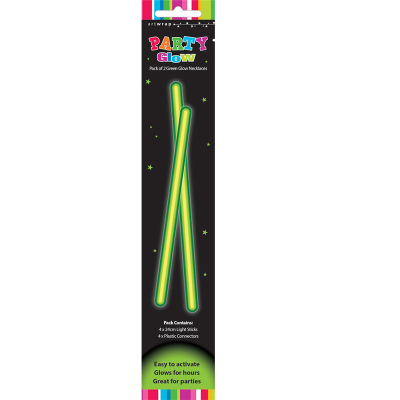 Glow Necklaces Green 2PK