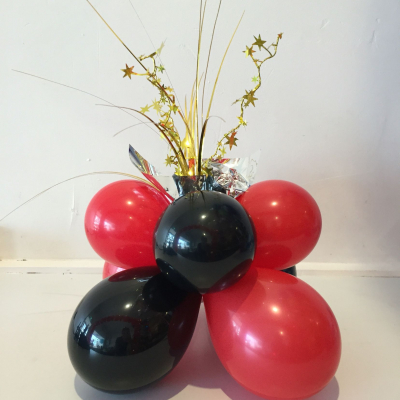 Table Spangle Air Filled Plain Colour Balloon