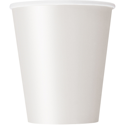 Paper Cups - White 8PK