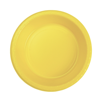 Five Star Round Dessert Bowl 17cm Canary Yellow 20PK