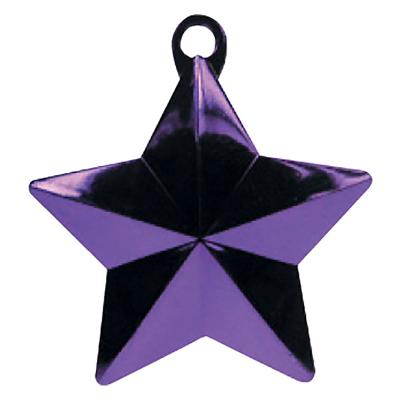Balloon Weight Star Purple