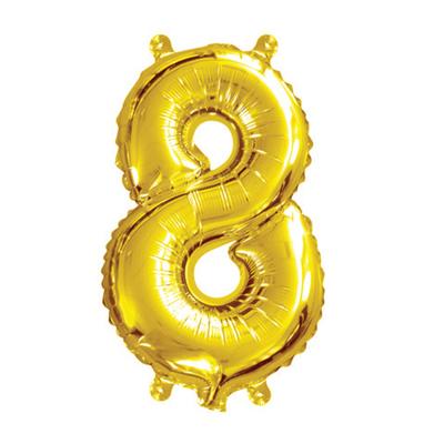 35cm 14 Inch Gold Foil Balloon 8