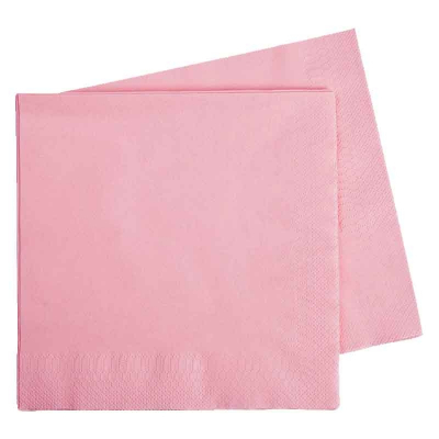 Five Star Dinner Napkin 40cm Classic Pink 40PK