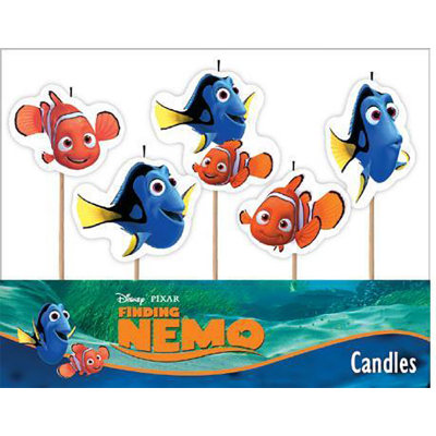Finding Nemo Candles 5PK