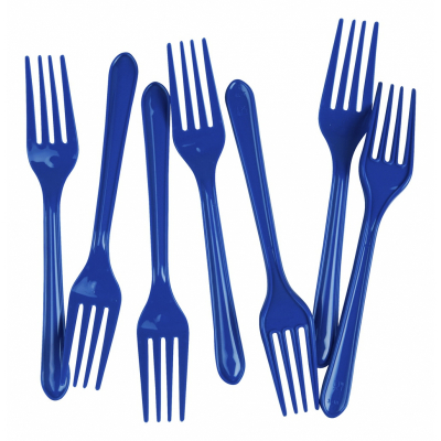 Five Star Dessert Fork True Blue 20PK