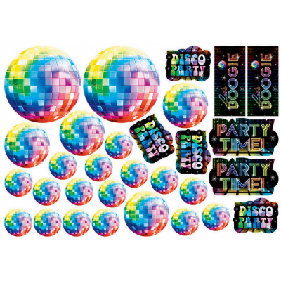 Disco Fever Cutout Value Pack 30PK