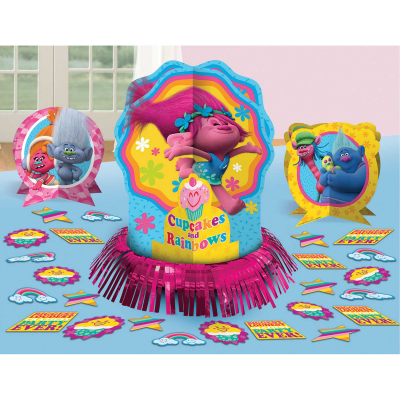 Trolls Table Decorating Kit 23PK