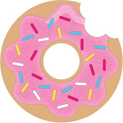 Donut Time Invitations 8PK