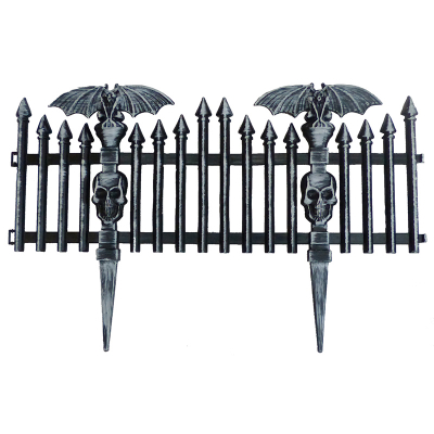 Bat Picket Fence Black