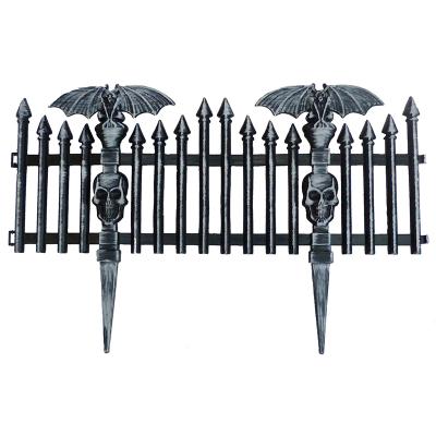 Bat Picket Fence Black
