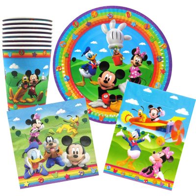 Mickey Mouse Clubhouse Party Pack 40PK