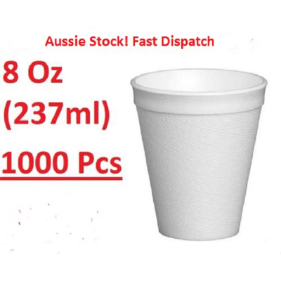 Foam Cups 237ml 1000PK