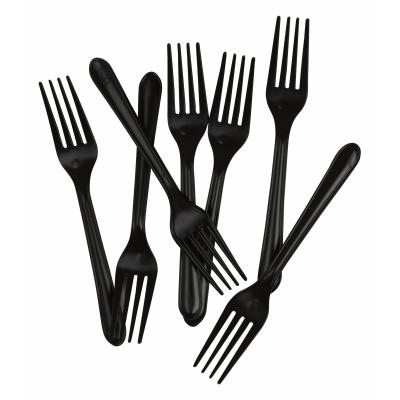 Five Star Dessert Fork Black 20PK