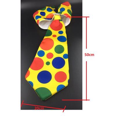 Jumbo Clown Tie With Collar