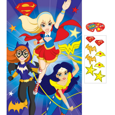 DC Superhero Girls Party Game